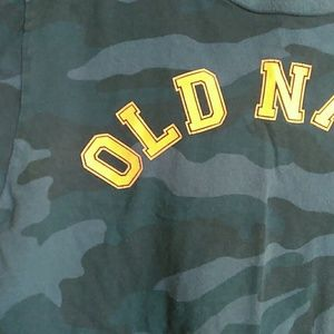 Old Navy Shirts & Tops - Blue camo Old Navy Tshirt